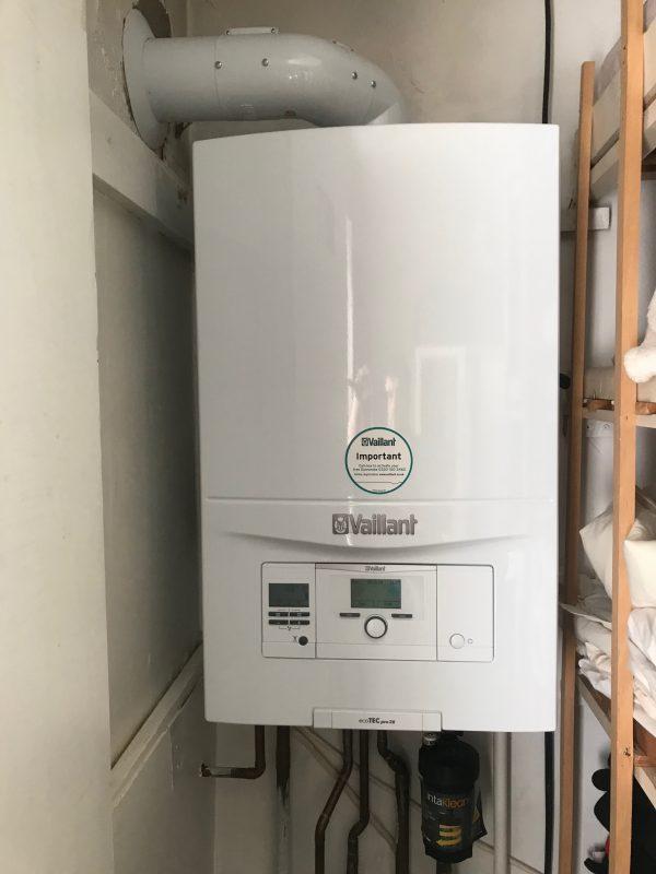 Boiler Install in Sholing